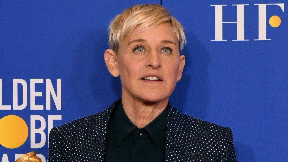 Ellen DeGeneres en los Globos de Oro