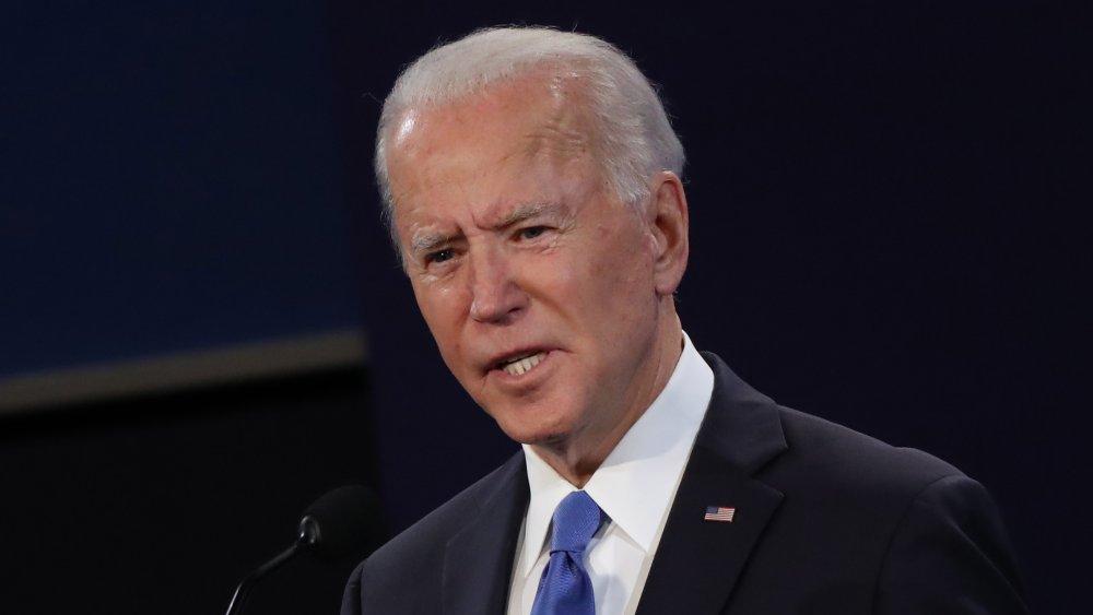 Debate presidencial final de Joe Biden