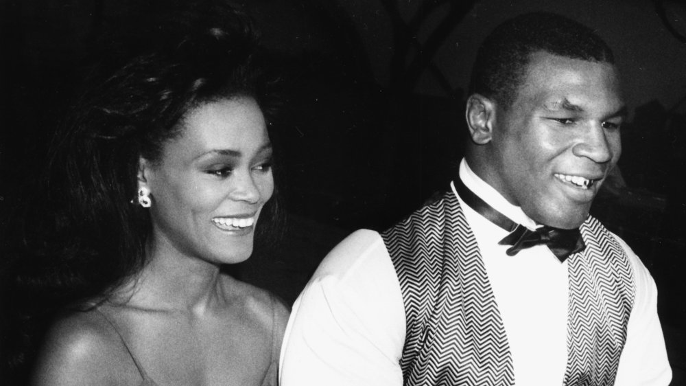 Mike Tyson y Robin Givens