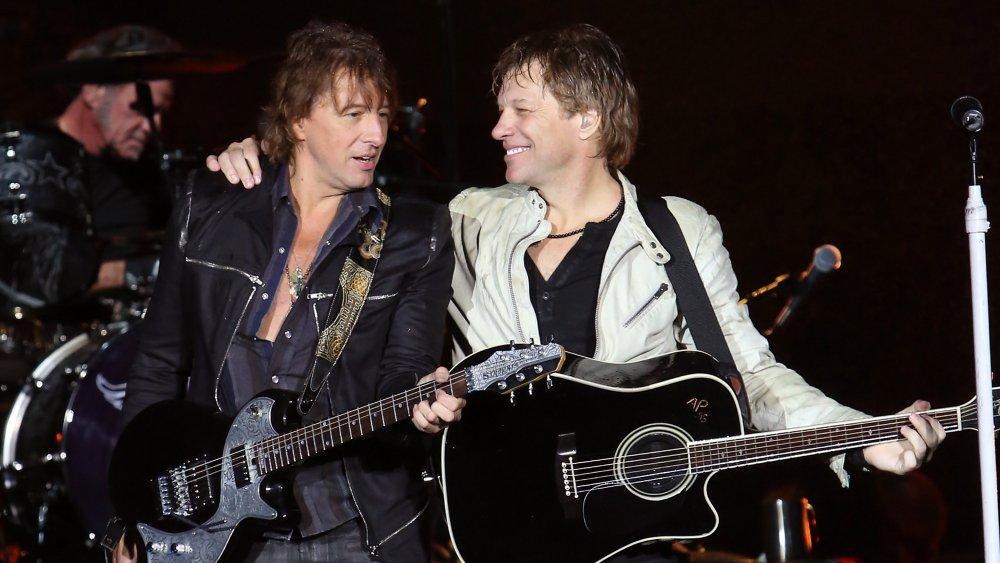 Richie Sambora y Jon Bon Jovi