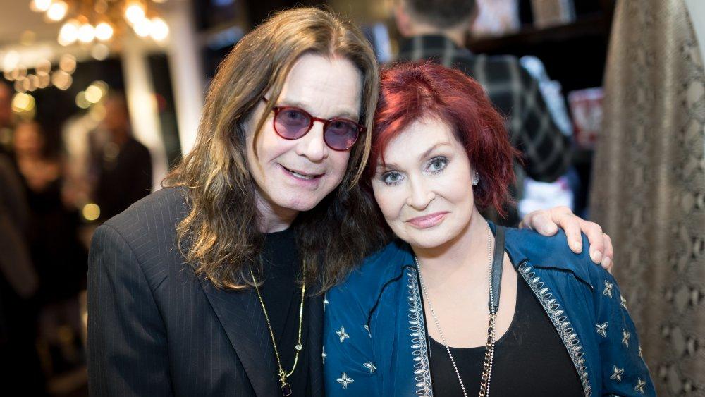 Ozzy Osbourne y Sharon Osbourne