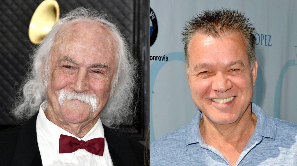 David Crosby y Eddie Van Halen