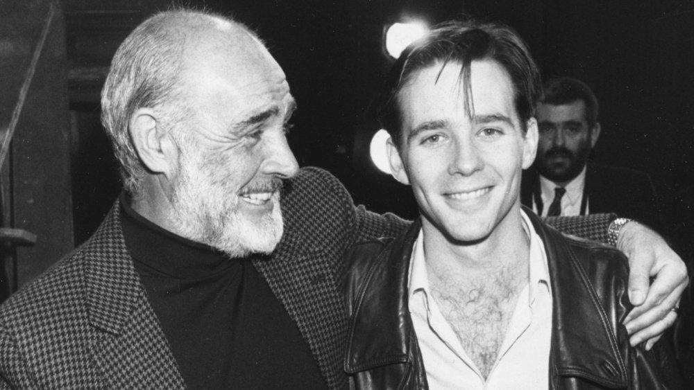 Sean Connery y Jason Connery