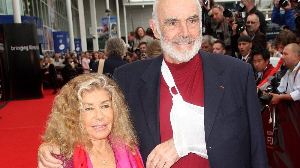 Sean Connery y Micheline Roquebrune