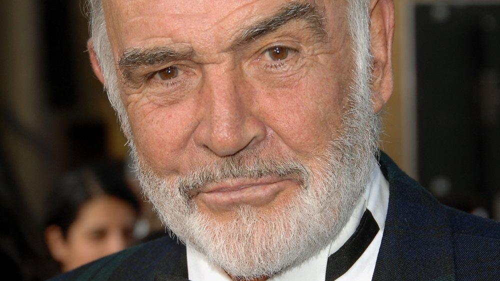 Sean Connery con su expresión severa característica en un evento AFI 2007