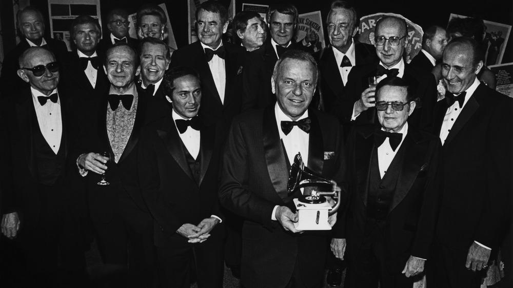Reunión de los Grammy con Frank Sinatra