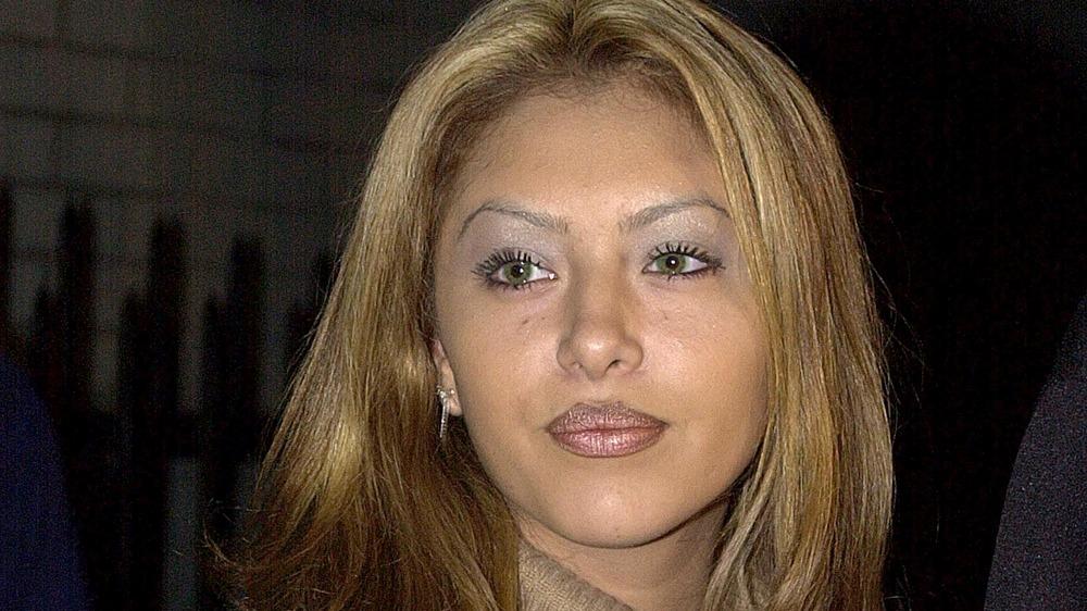 Vanessa Bryant con cabello rubio