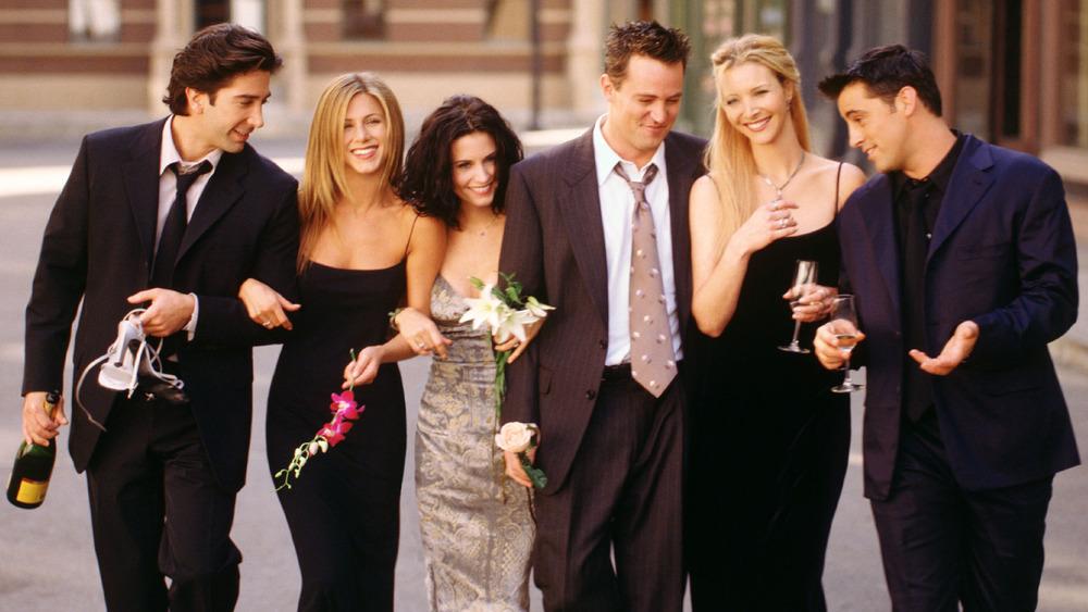 El elenco de Friends