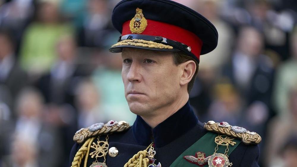 Tobias Menzies como el príncipe Felipe en The Crown