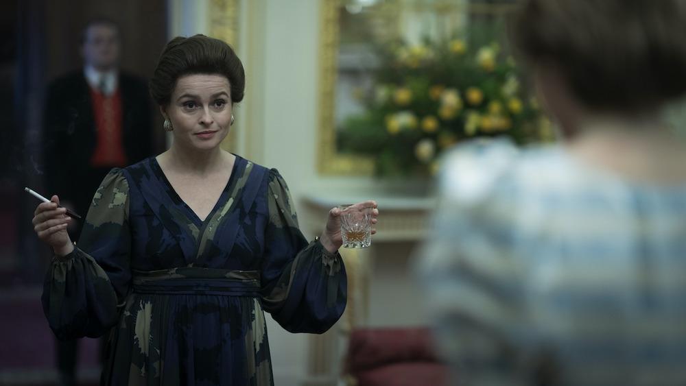 Helena Bonham Carter como Princess Margaret en The Crown
