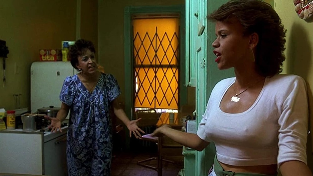Diva Osorio y Rosie Perez en Do the Right Thing