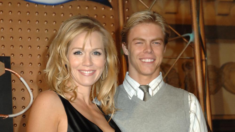 Jennie Garth y Derek Hough