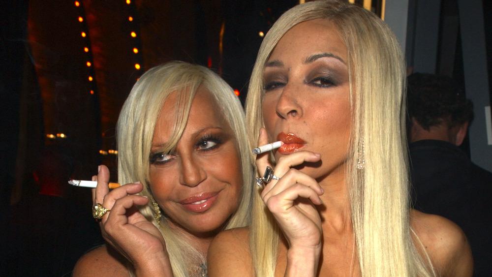 Donatella Versace con Maya Rudolph
