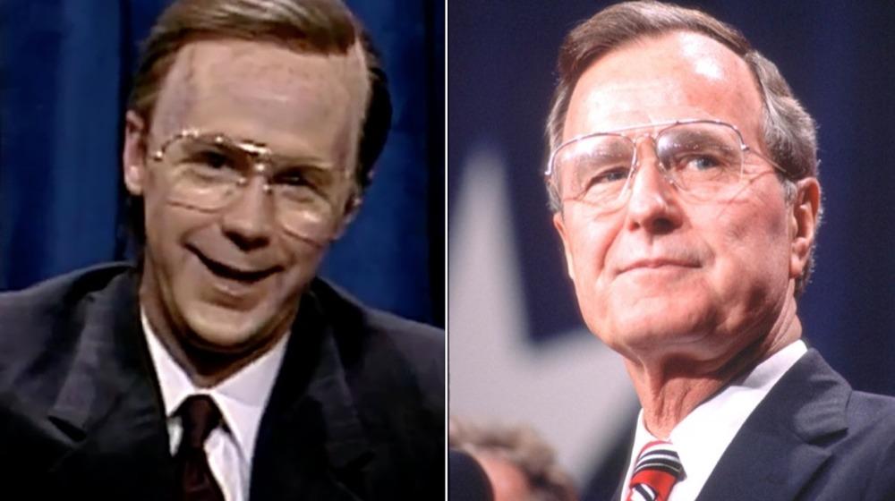 Dana Carvey y George HW Bush