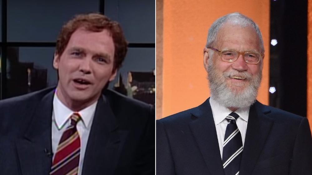 Norm Macdonald y David Letterman