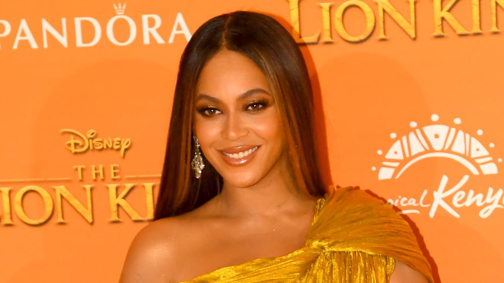 Beyoncé sonriendo