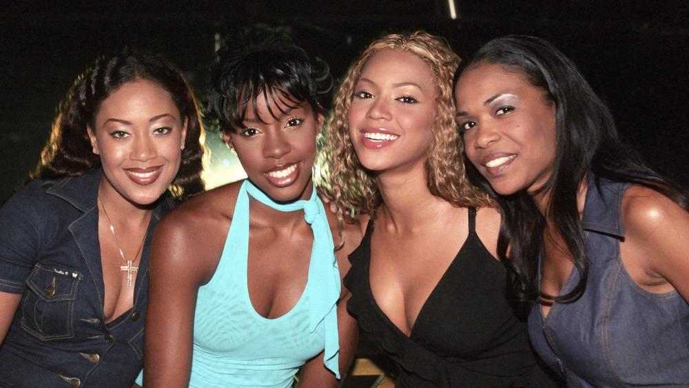 Farrah Franklin, Beyonce, Kelly Rowland, Michelle Williams en Destiny's Child