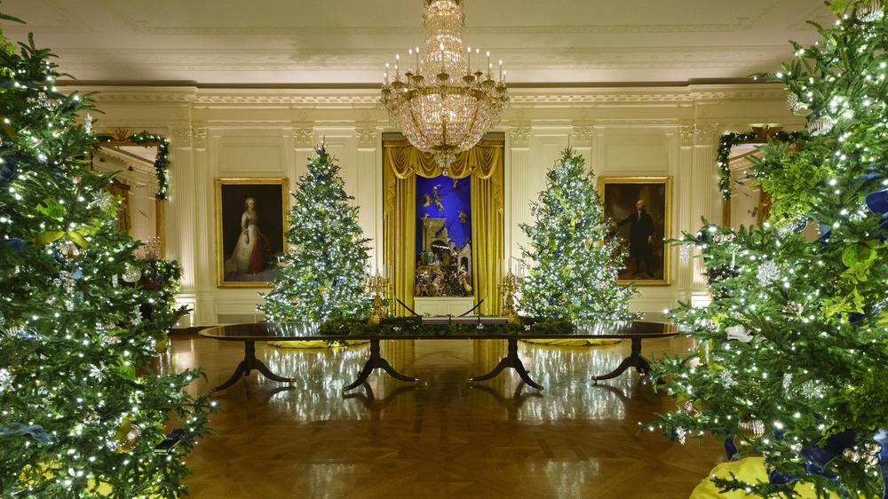 Árboles de Navidad de la Casa Blanca