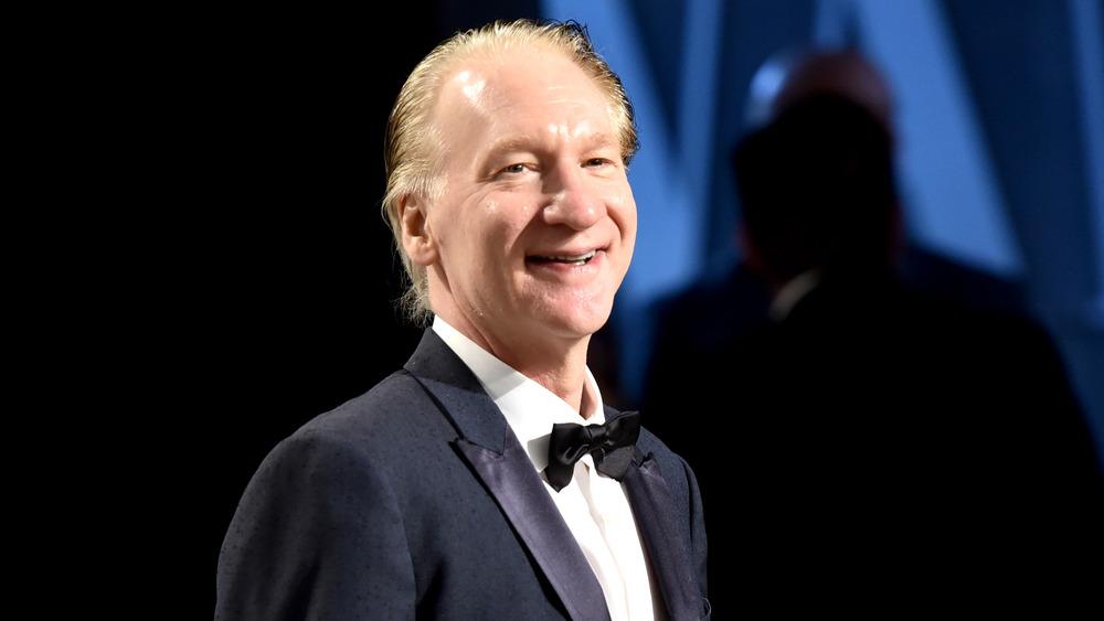 Bill Maher en la fiesta de los Oscar de Vanity Fair