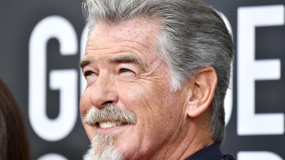 Pierce Brosnan en los Golden Globe Awards