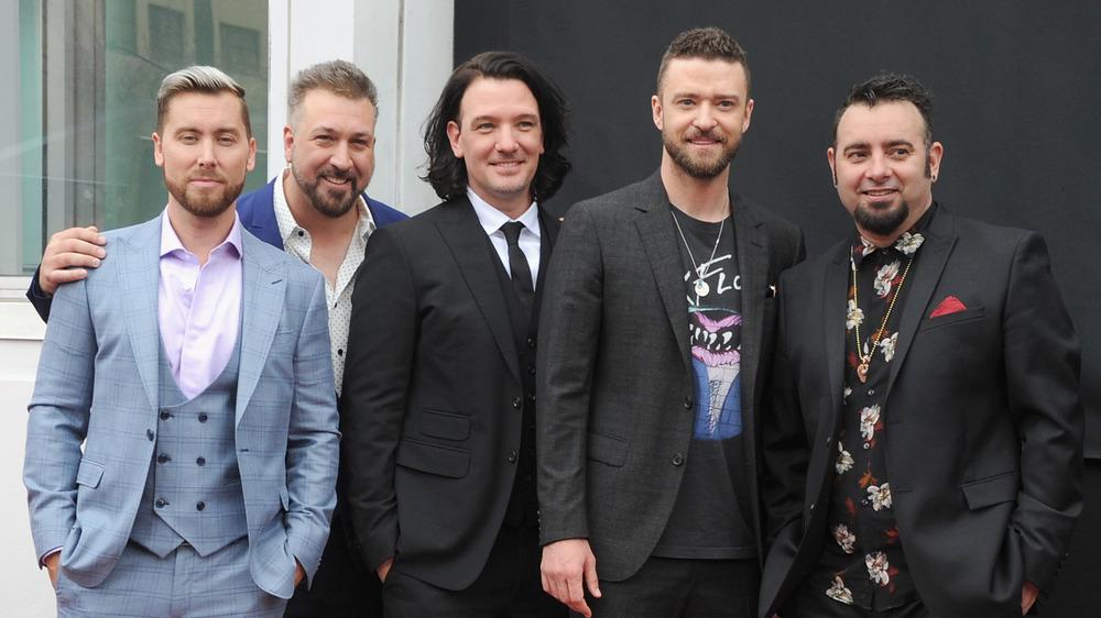 Miembros de la banda NSYNC