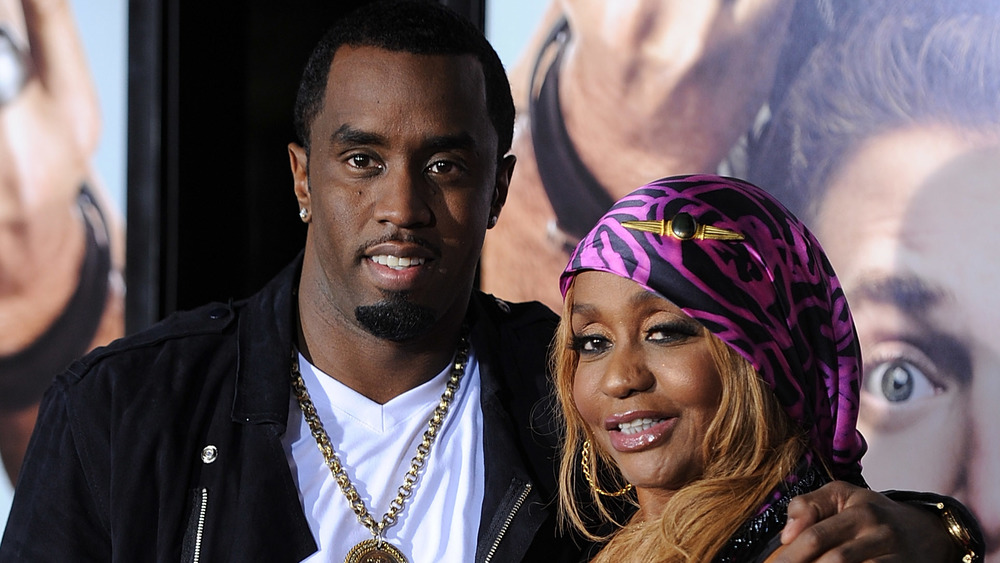 Diddy y su mamá Janet
