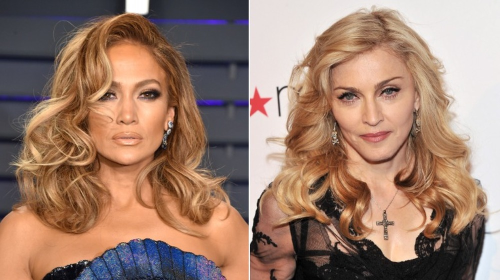 Jennifer Lopez y Madonna