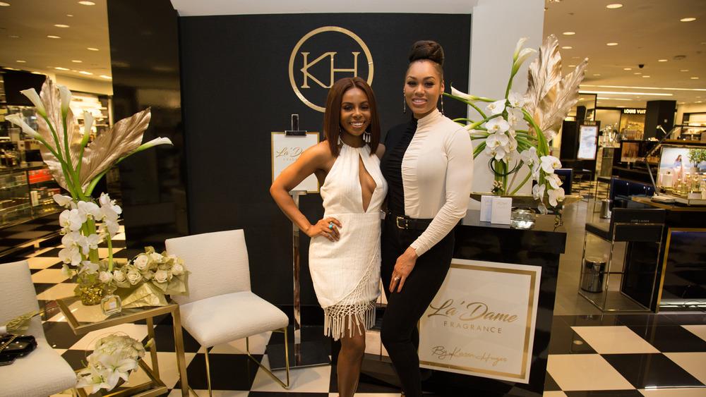 Candiace Dillard y Monique Samuels en un evento