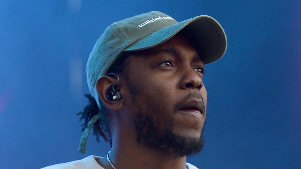Kendrick Lamar en el escenario