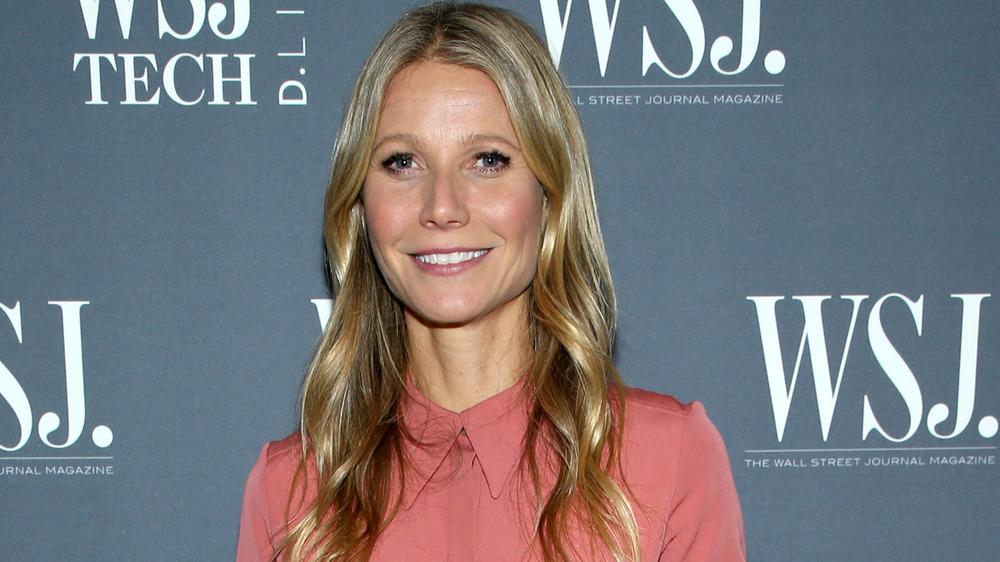 Gwyneth Paltrow sonriendo