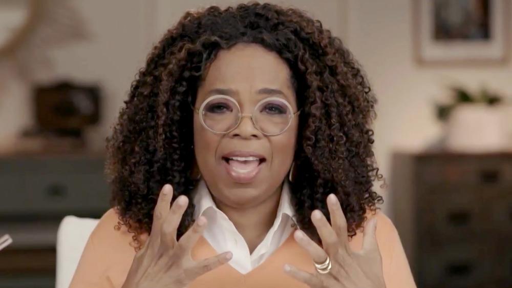 Oprah Winfrey en una aparición televisiva