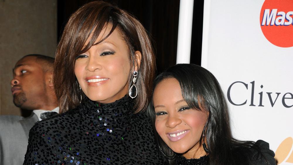 Whitney Houston con Bobbi Kristina Brown
