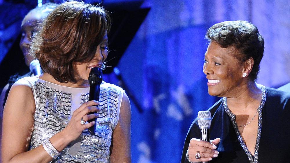 Whitney Houston con Dionne Warwick