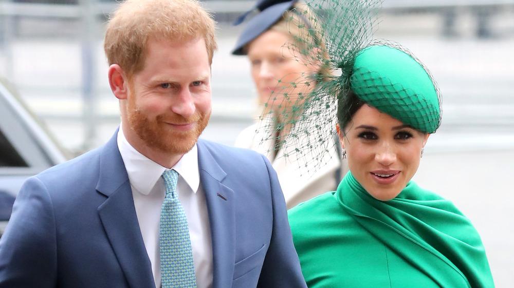 El príncipe Harry y Meghan Markle en funciones reales