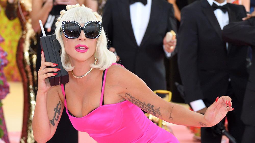 Lady Gaga en Met Gala
