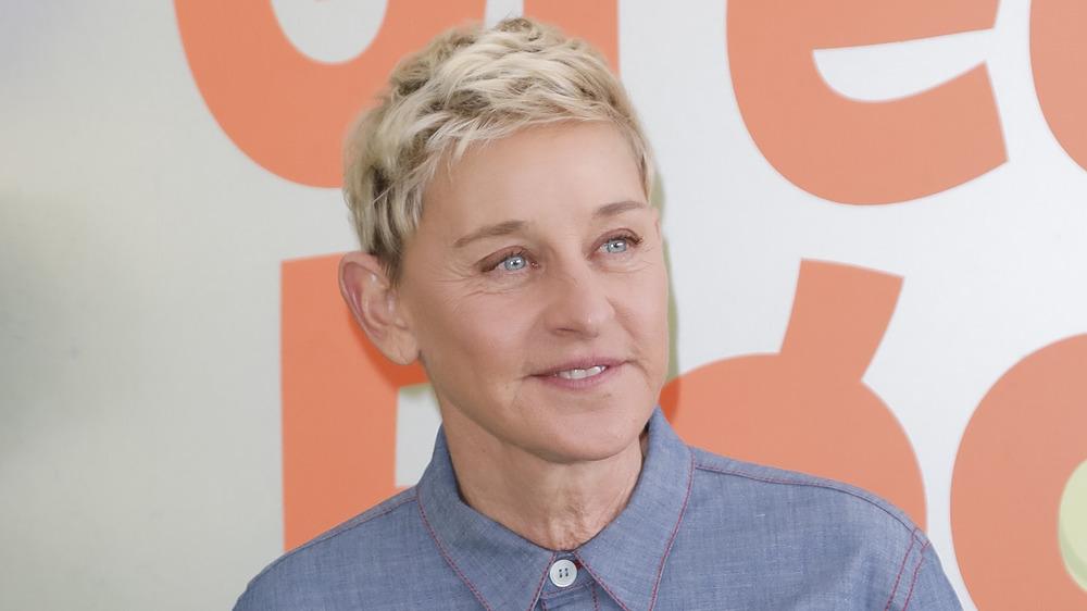 Ellen DeGeneres en la alfombra roja