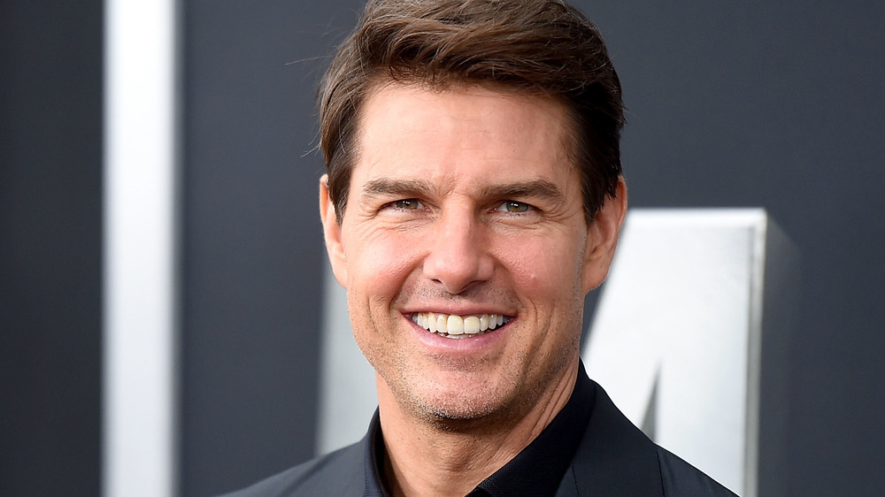 Tom Cruise sonriendo