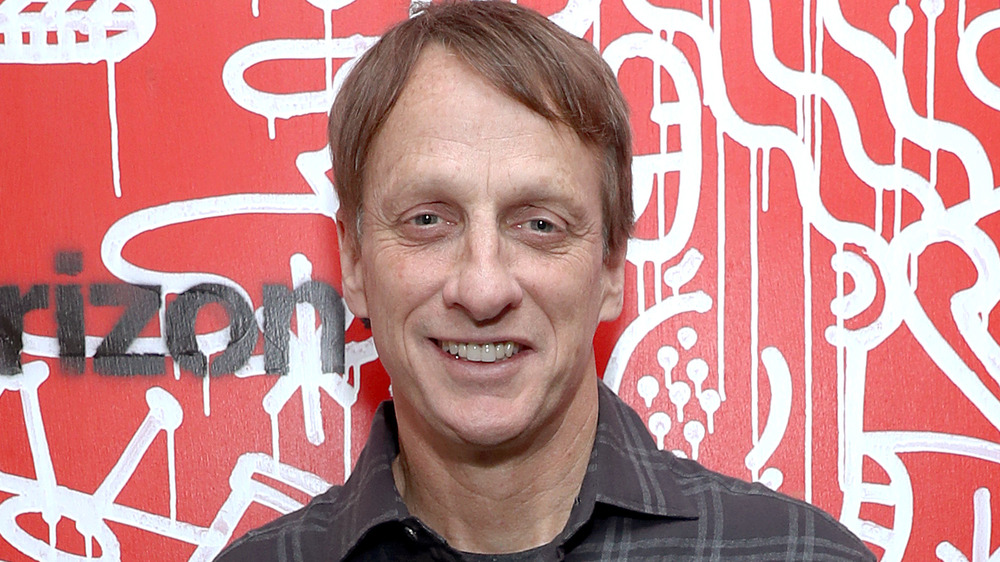 Tony Hawk sonriendo