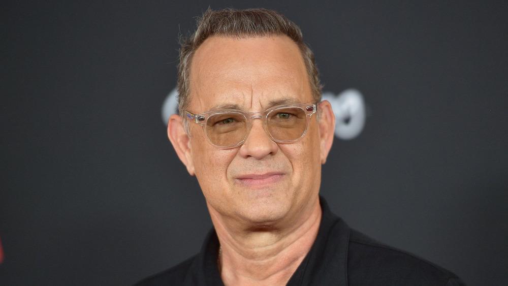 Tom Hanks en un estreno