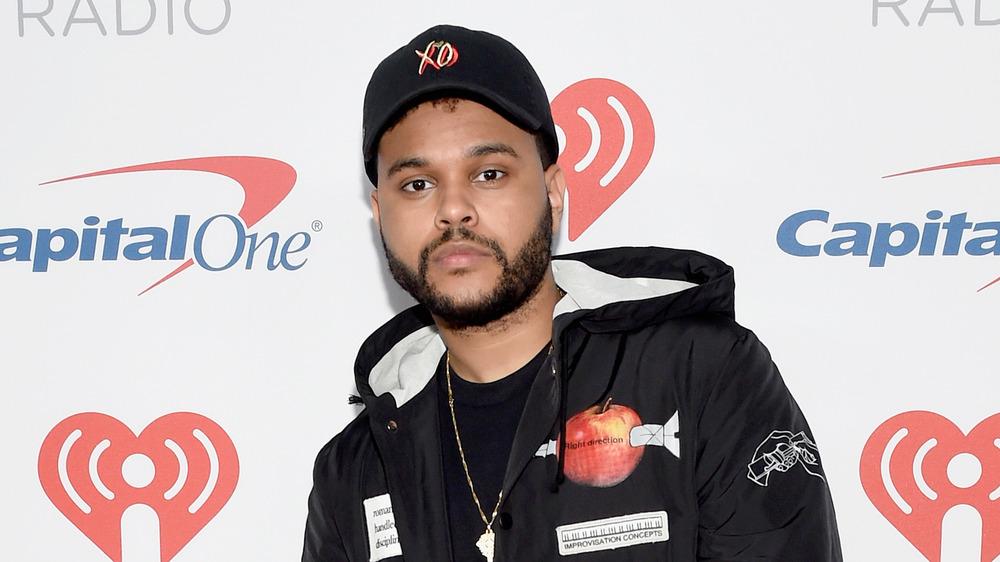 The Weeknd en un evento de IHeartRadio