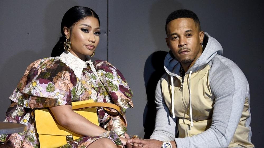 Nicki Minaj y Kenneth Petty