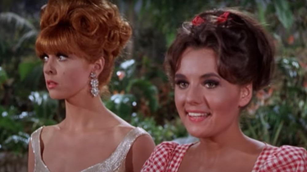Tina Louise y Dawn Wells en 'La isla de Gilligan'