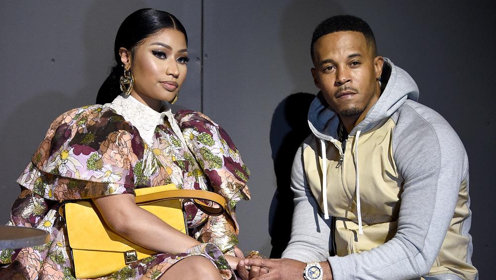 Nicki Minaj y su esposo Kenneth Petty