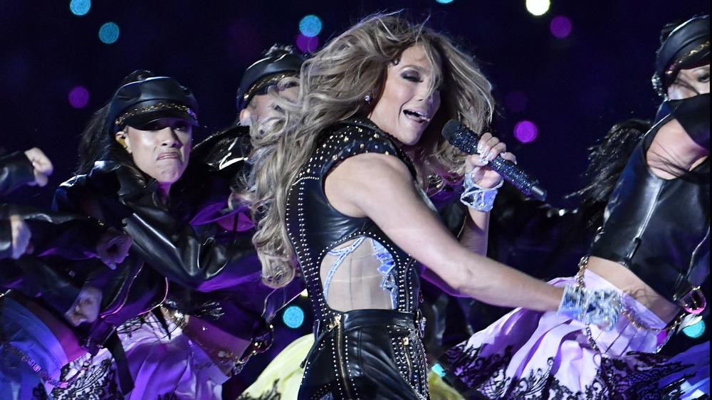 Actuación de Jennifer Lopez en el Super Bowl