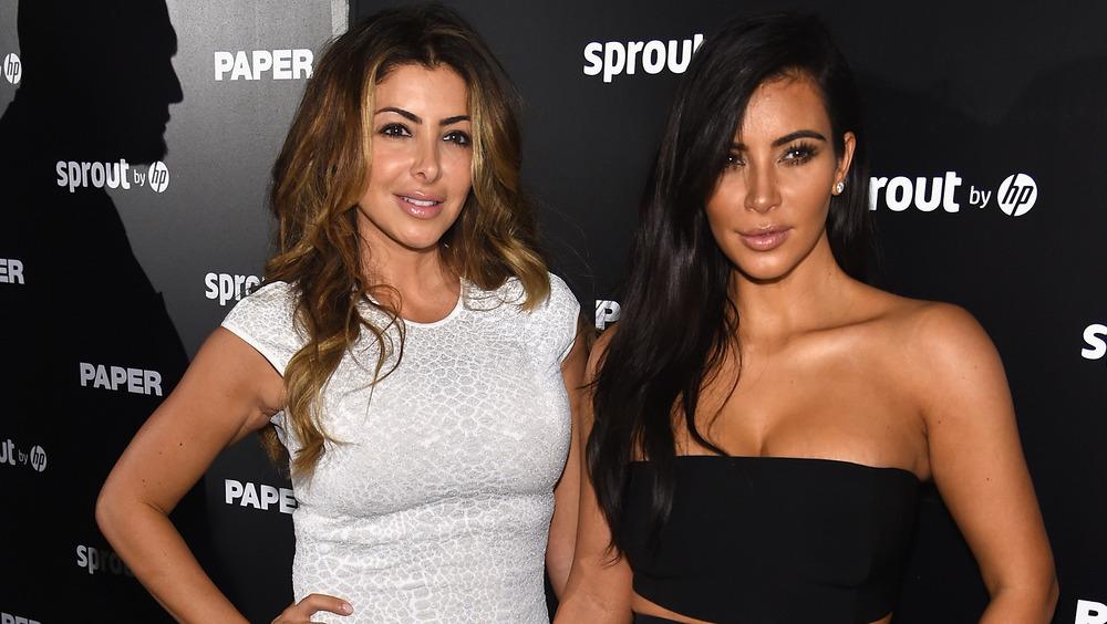 Larsa Pippen con Kim Kardashian