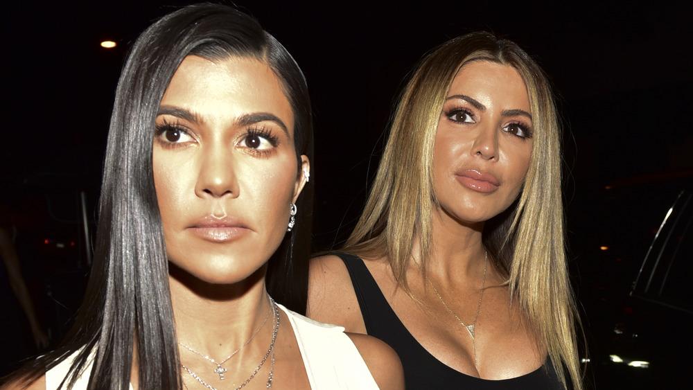 Kourtney Kardashian con Larsa Pippen