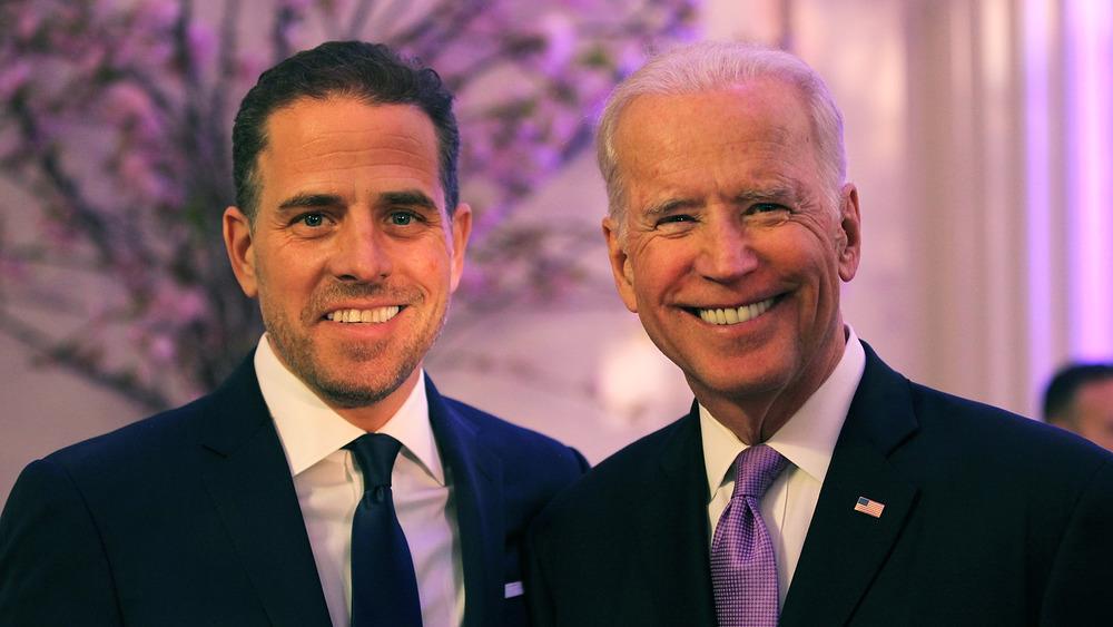 Hunter y Joe Biden