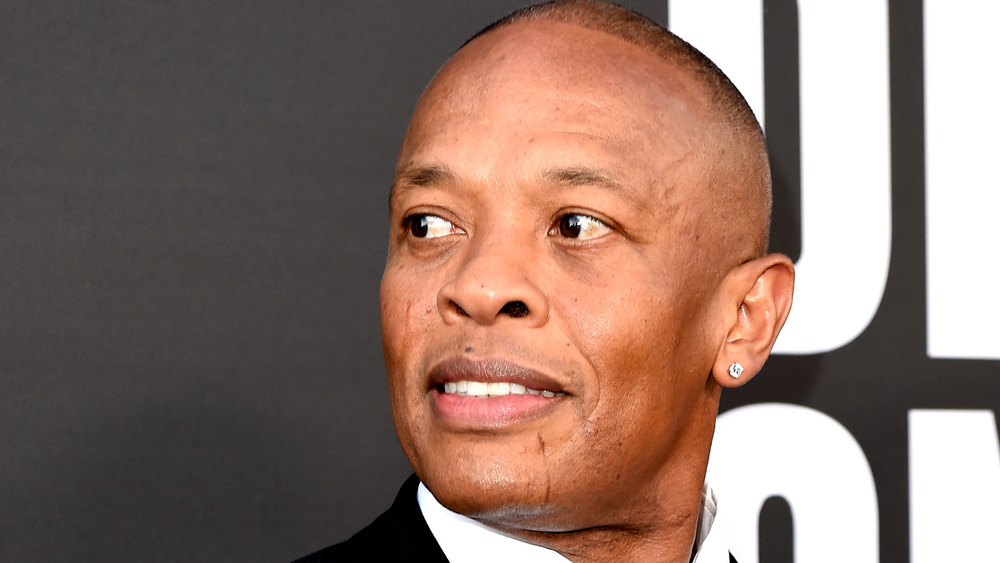 Dr. Dre en la alfombra roja