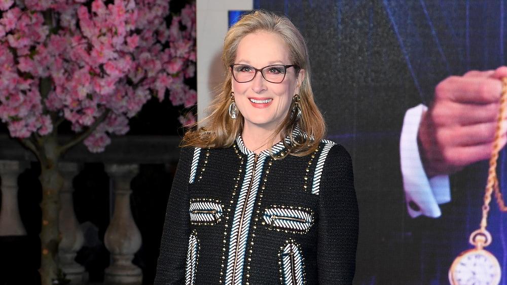 Meryl Streep sonriendo
