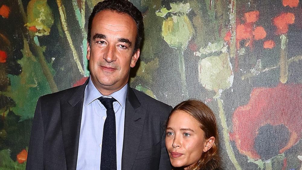 Mary-Kate Olsen con Olivier Sarkozy